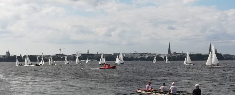 24h-Regatta in Hamburg 2017